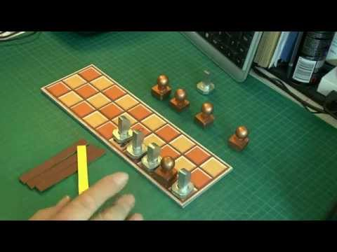 How to make the Board game SENET