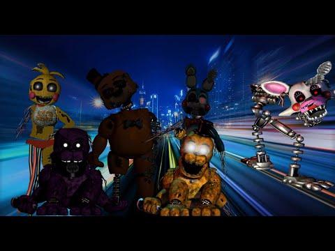 Fnaf   Speed Edit: X2 Withered Golden Freddy, Shadow Freddy U0026 X2 Toys!