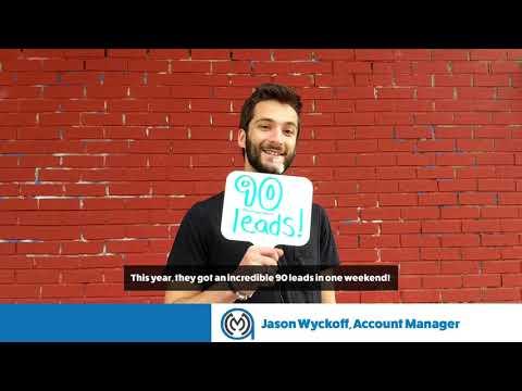 90 Leads For Brad Tank Insurance Agency!