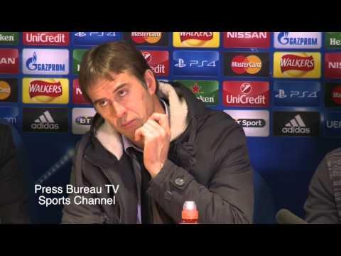 Julen Lopetegui reaction Chelsea vs Porto