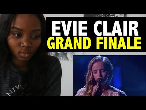 EVIE CLAIR - GRAND FINALE - AMERICA'S GOT TALENT - REACTION!