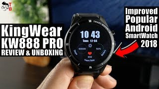 KingWear KW88 Pro REVIEW: Is This Good Upgrade of Popular Smartwatch?