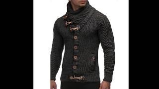All Match Outerwear Jackets Men Clothing Blouse Top Men Sweater Autumn Winter