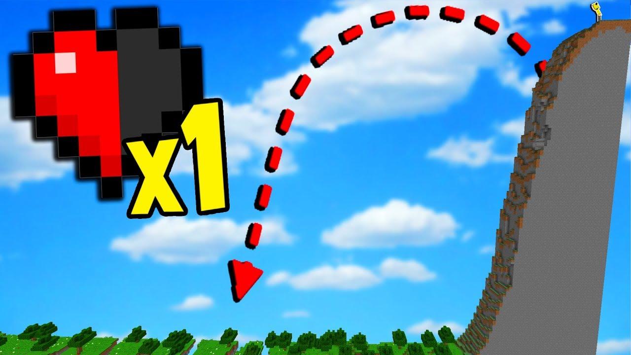 Minecraft YARIM KALP İLE  4v4 EFSANE YARIŞ!