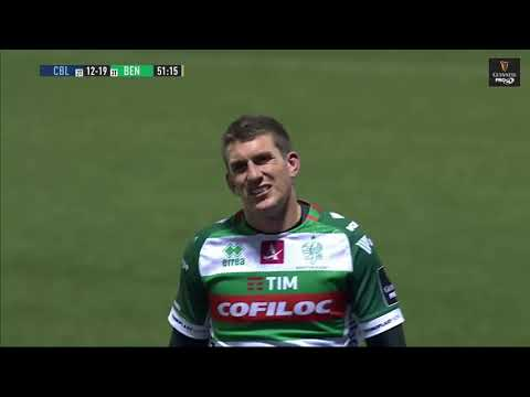 Guinness PRO14 Round 12: Cardiff Blues V Benetton Rugby Highlights