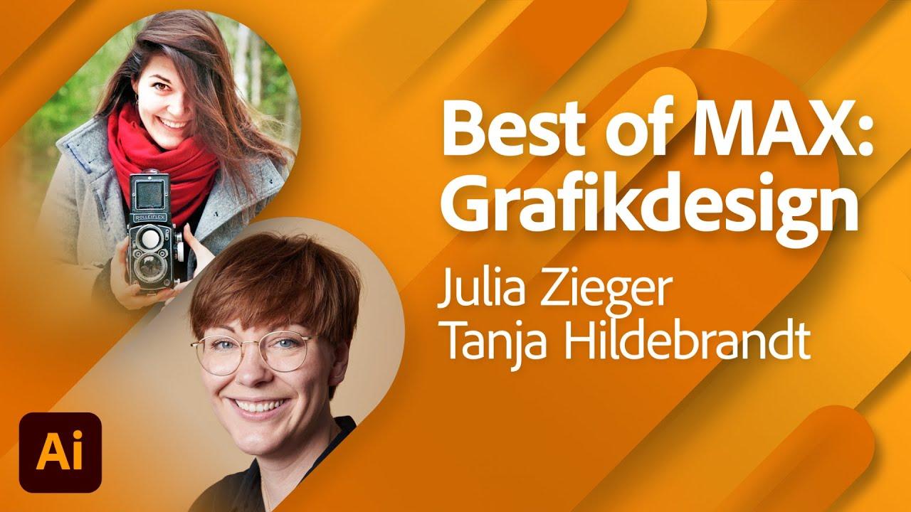 Best Of MAX: Grafikdesign mit Julia Zieger |Adobe Live