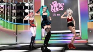 [MMD] Wonder Girls (원더걸스) - Tell Me (텔미)