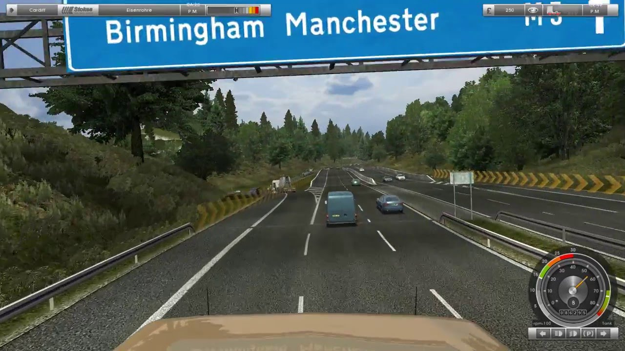 Truck Maps Uk HOW BIG IS THE MAP in UK Truck Simulator? Drive Across the Map