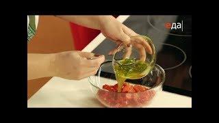 Чесночная заправка с зеленью (соус) для печёного перца / Илья Лазерсон / Кулинарный ликбез
