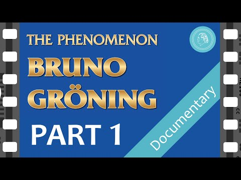The PHENOMENON BRUNO GROENING – documentary film – PART 1