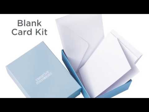 Blank Card Kit   Creative Memories Australia