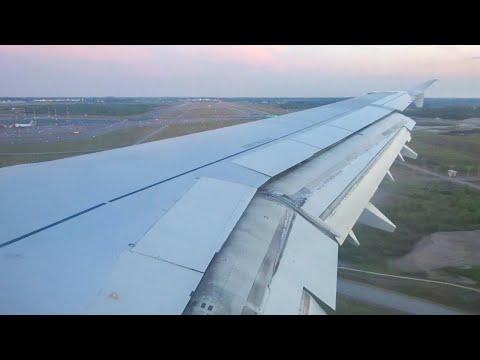Finnair A321 - Late Night Landing Into Helsinki Airport From Zurich