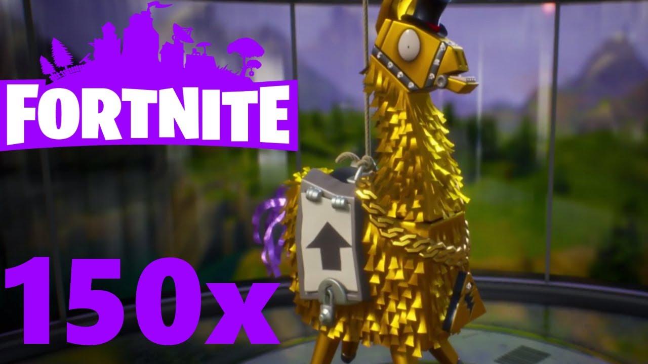 Loot Lama Opening Fortnite