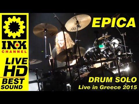 EPICA - Drum Solo - Ariën van Weesenbeek
