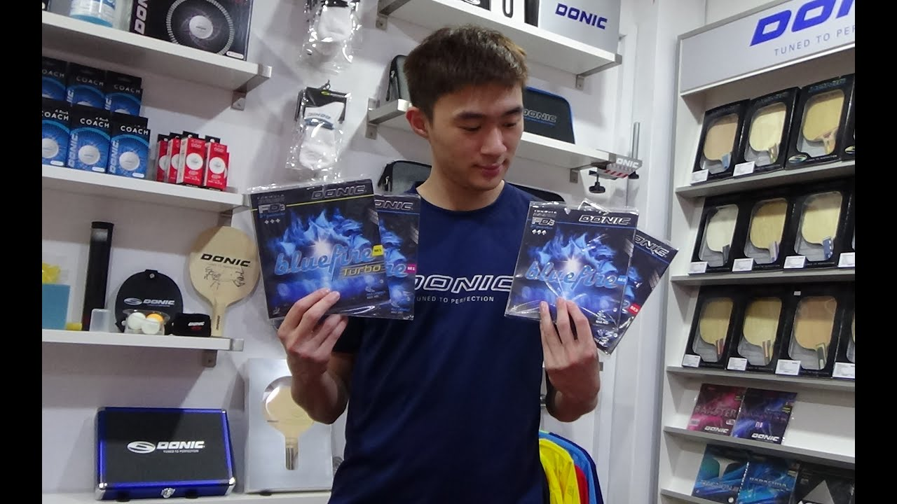 Donic Bluefire Rubber Series Review