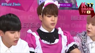 BTS Dress as Girls Compilation (Love Yourself)
