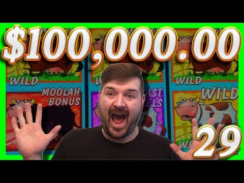 $100,000.00 In SLOT MACHINE BIG WINS!29 Half JACKPOTS W/ SDGuy1234 - 동영상
