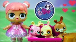 LOL Surprise • Opiekunka Króliczków • Littlest Pet Shop • Bajki dla dzieci