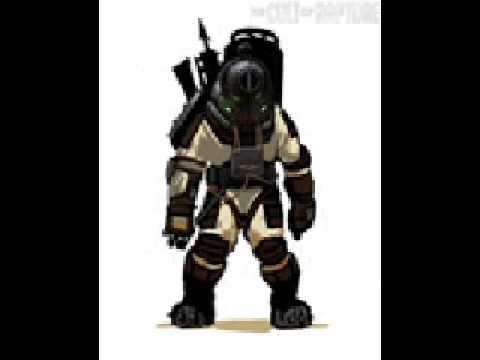 Bioshock 2 Prototype Big Daddy Art Concepts