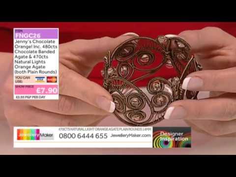 [How to make Art Deco style jewellery] - JewelleryMaker DI 11/5/14