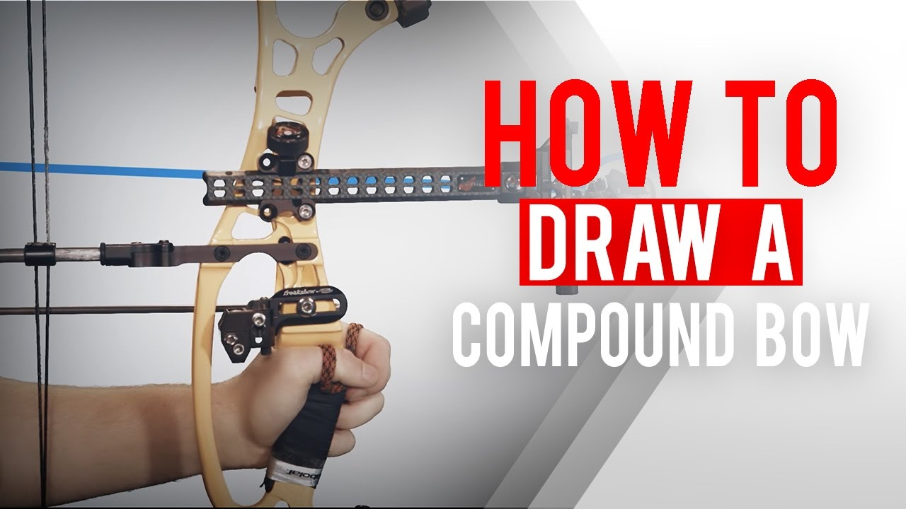 how to draw a compound bow | archery 360