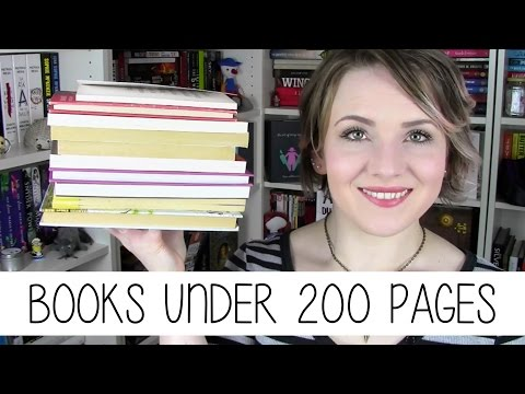 Recommend: Books under 200 pages
