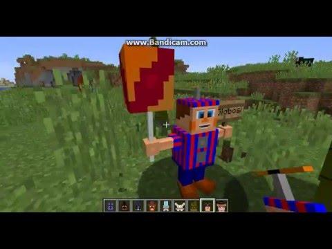 Minecraft fnaf mod 1 8 fixed 2016 10 23