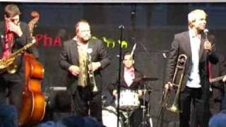 Second Line Jazzband plays 'All alone by the telephone'