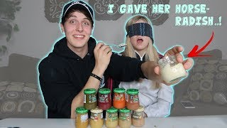 COUPLES BABY FOOD CHALLENGE!!