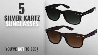 Top 10 Silver Kartz Sunglasses [2018]: Silver Kartz Combo of 2 Wayfarer Unisex