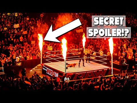 Is Kanes Pyro A Secret Spoiler!? 10 More Secrets The WWE Doesnt Want You To Know!