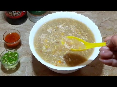 Chicken Corn Soup Recipe | How To Make Chicken Corn Soup At Home By Maria Ansri ♡