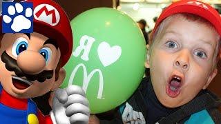 Vlog | Игрушки Супер Марио В Хэппи Мил Макдональдс 2015 | Super Mario Happy Meal Toys