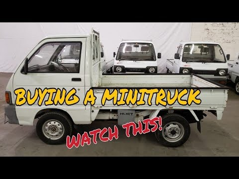 $4500 Mini Truck info (SE01 EP01) what to look for, buy and get it home on  5x10 trailer