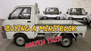 Mini Truck info, what to look for, buy and get it home on 5x10 trailer HiJet (Part 1)
