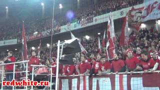 Спартак - Арсенал 2:0, суппорт фанатов Спартака