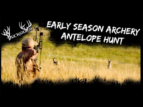 Early Archery Antelope Hunt | BUCKSTORM