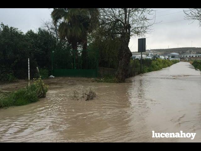 Vídeo noticia: Las lluvias dejan problemas en Camino de Torremolinos y alguna salida de vía