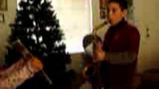 U.S. Marine Corps Hymn using a Saxophone