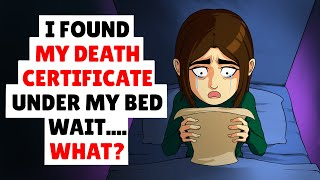 Download I found my death certificate under my bed Mp3 and Videos