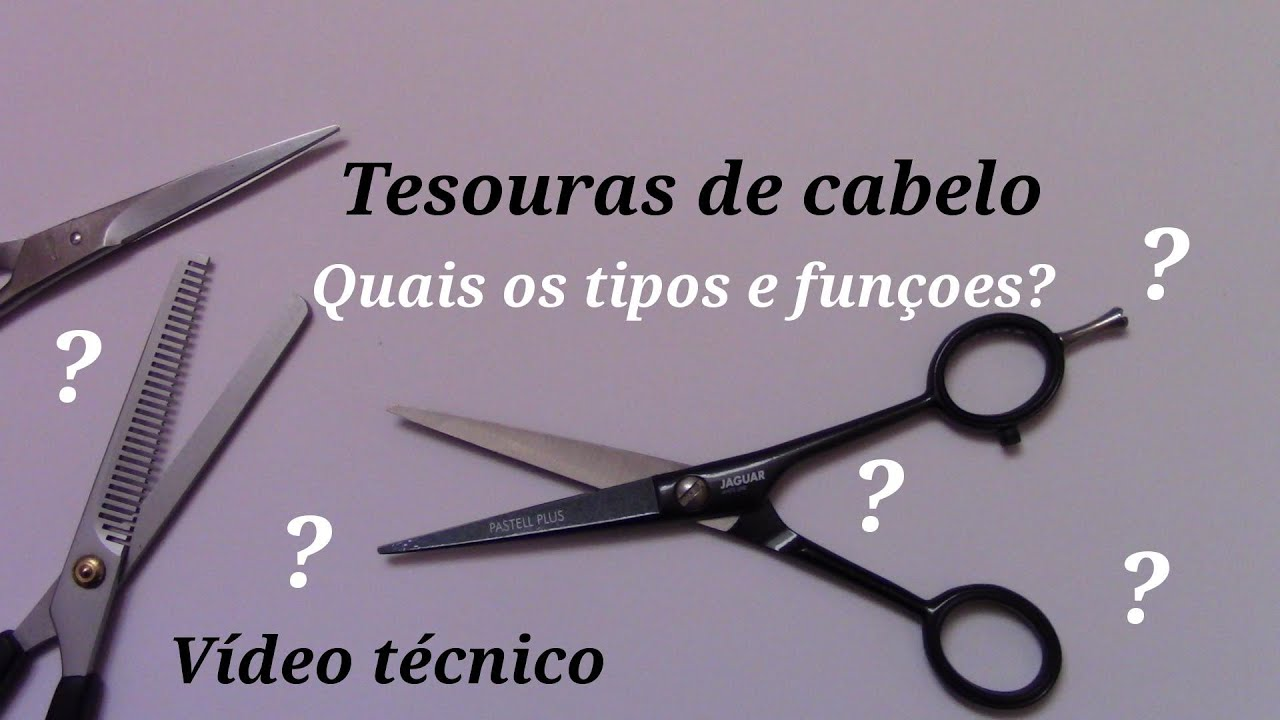 Tipos de tesouras de cabeleireiro diferen as e fun es de - Tipos de estores para salon ...