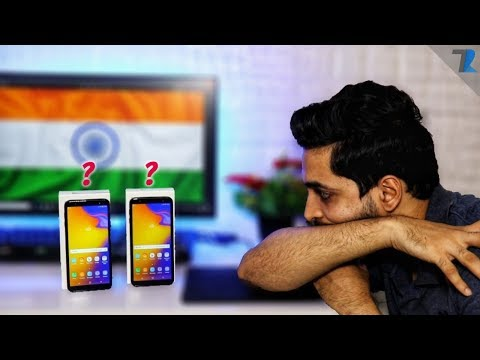 Samsung Galaxy J6+ & J4+ - Unboxing & Hands On