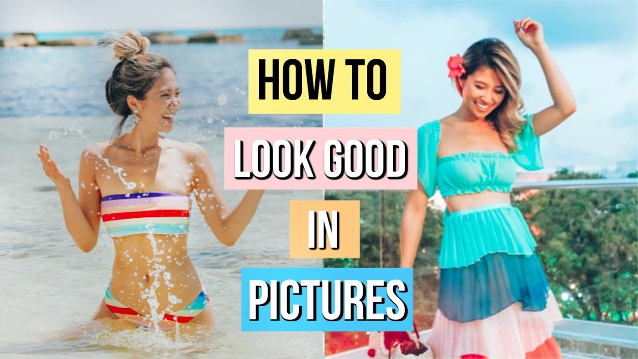 How to Pose for Vacation Pictures!  12 Photography Hacks and Tricks!