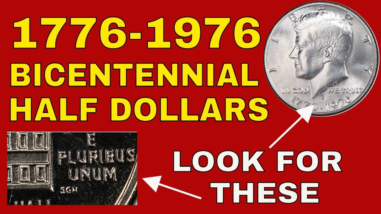 1976 Bicentennial half dollars worth money! Rare 1976 Kennedy half dollars  error coins value!