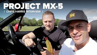 project mx 5 my awkward interview with chris harris