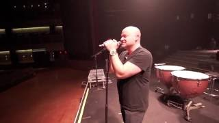 Disturbed on Tour: David Warms Up
