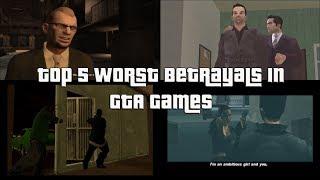 Top 5 Worst Betrayals In GTA Games