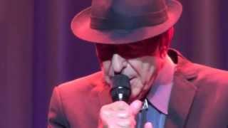 Leonard Cohen, La Manic,  (George Dor cover) Brussels, 30-06-2013