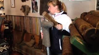видео Музей Русские Валенки в Мышкине