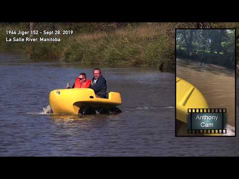 Jiger ATV In The Water